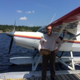 If flying in on a Float-plane...