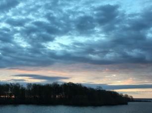 Sunrise over Little Italy