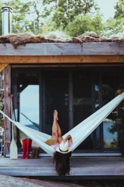 Relaxing in Hammock