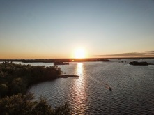 Sunset from Bunkie Bay